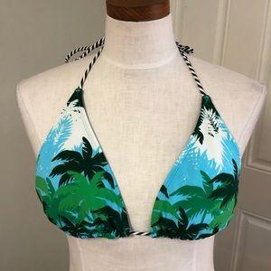 Tommy Hilfiger tropical palm tree triangle bikini